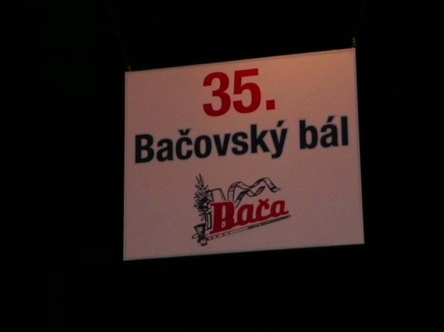 35.Bačovský bál