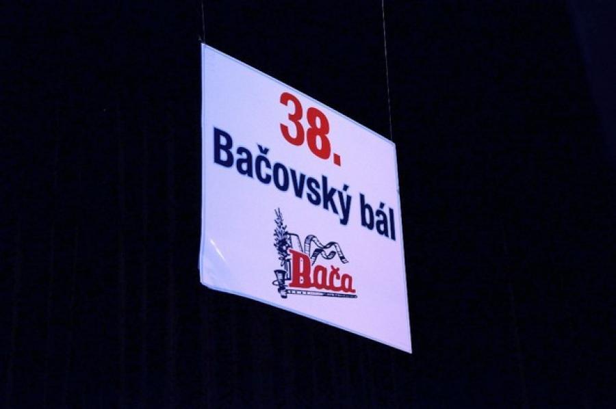 Bačovský bál 2017