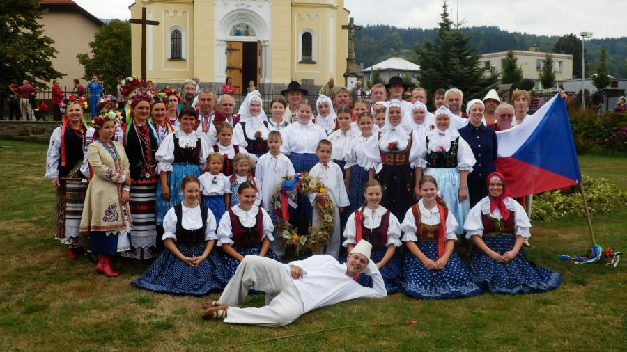 Dožínky- Koliba pod Horů na Dolní Bečvě