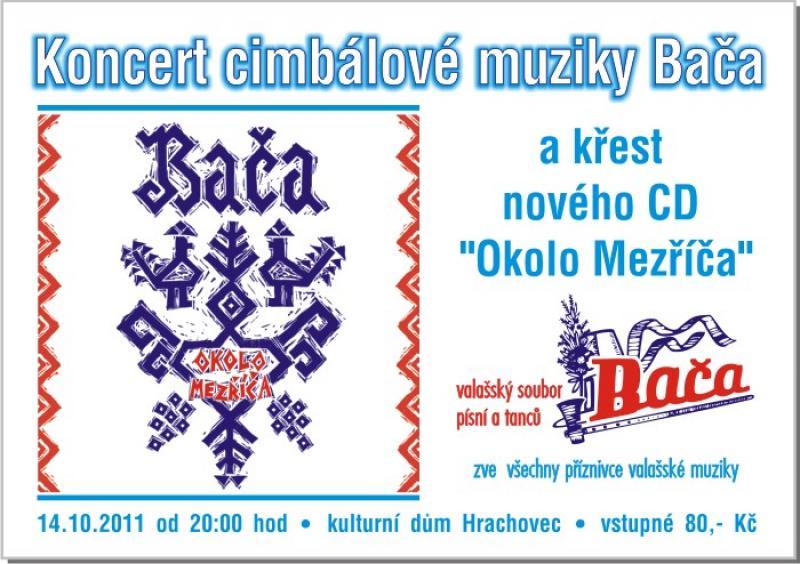 CM Bača pokřtí nové CD