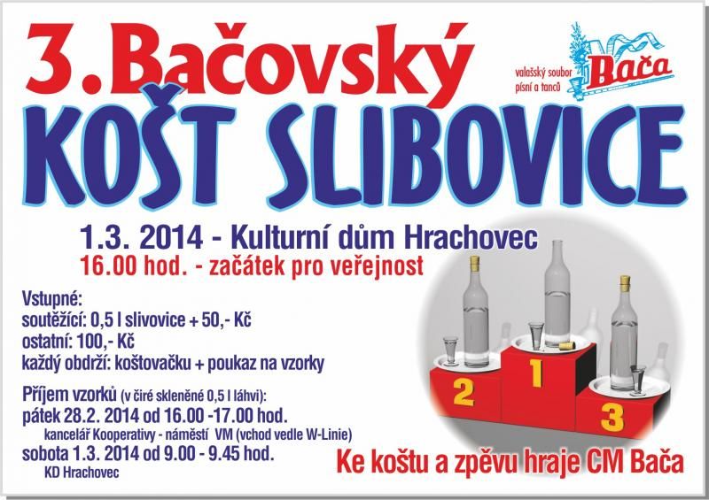 3.Bačovský Košt Slibovice