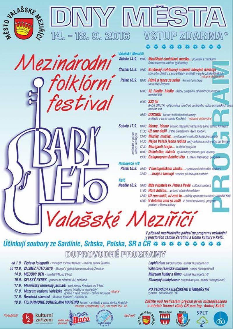 Mezinárodní folklorní festival Babí léto