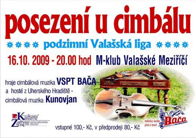 Valašská liga - 16.října v M-klubu